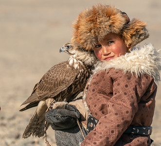 Mongolian Eagle Hunters and Camel Herders