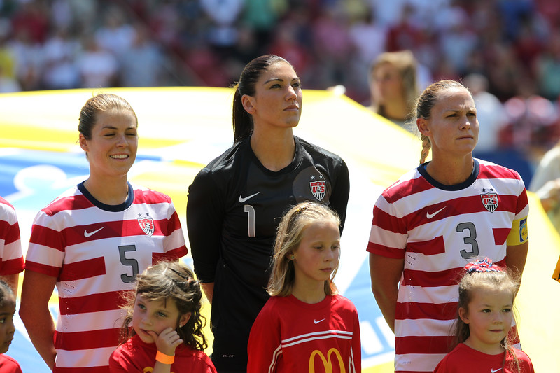 SOCCER: JUN 30 Women's - USA v Canada