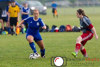 Club X Impact v. Metro (Dayton) FC Blue - 6/4/2016