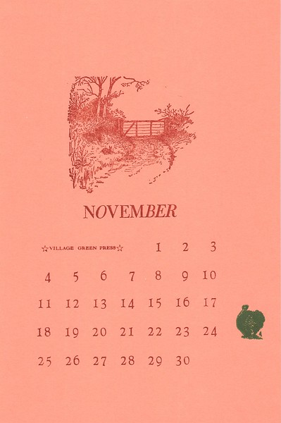November, 1990, Village Green