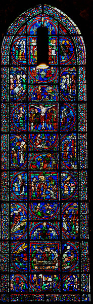 Chartres Cathedral, The Redemption Window