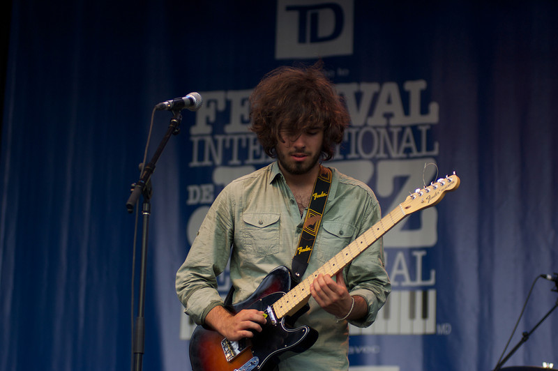 Conor Gains Band, Montreal Jazz festival, July 3rd 2011