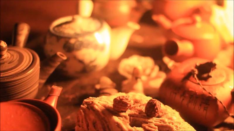 Night tea ceremony