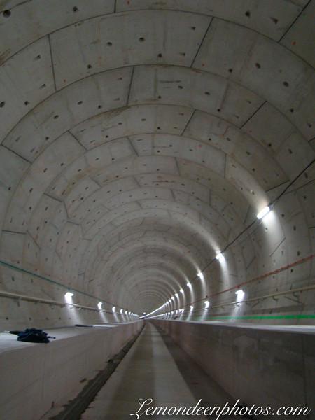 Tunnel LGV de Saverne (lors de sa construction)