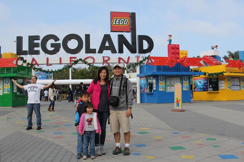 Steve and Tina Legoland