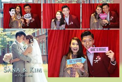 Sana & Kim Wedding 19 Mar 2016