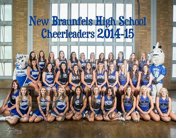 NBHS Cheerleaders 2015