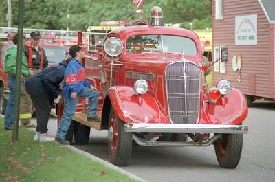Sands Township Fire @ Fire Prevention Week 1996