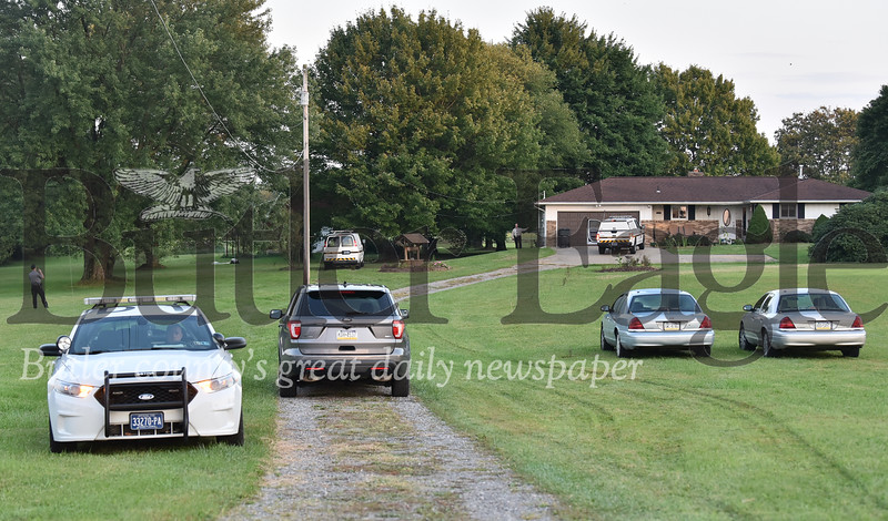 PA state police shoot a man at his home after he raised up his gun at 129 Nursery Rd in Foward Twp