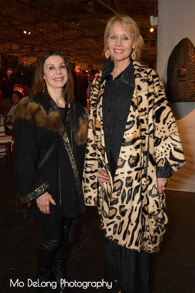 Eugenia Ahlas and Christine Suppes