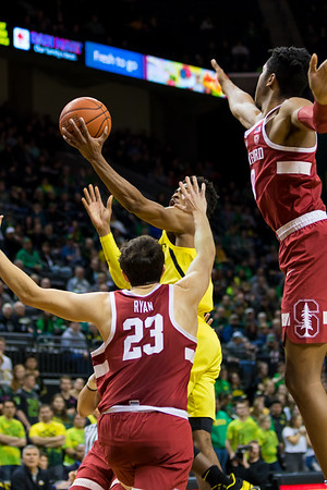 UO vs Stanford Basketball - Dr G