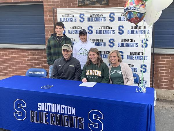 Southington Signing 4 11-17-20