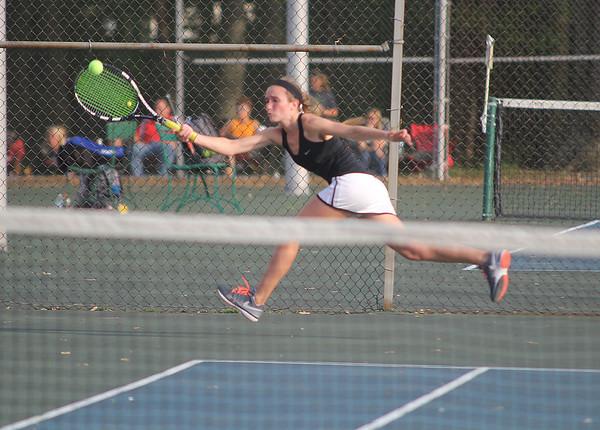 2015 Girls Sectional Tennis