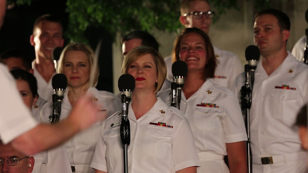 US Navy Band and Sea Chanters (music videos)
