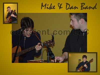 MIKE & DAN BAND at MOLTEN JAVA, 102 Greenwood Avenue, Bethel CT (203) 730-8191 - December 2, 2005