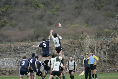 Rugby: 2nd Half : at Cal Poly SLO