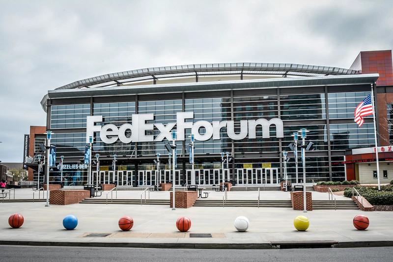 fedex forum memphis