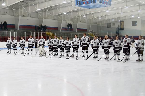 Girls Ice Hockey vs. Shrewsbury 12-17-16