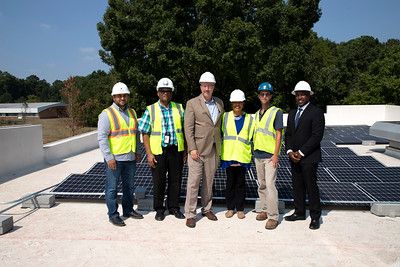 Solar Panels at Cleveland Avenue Library