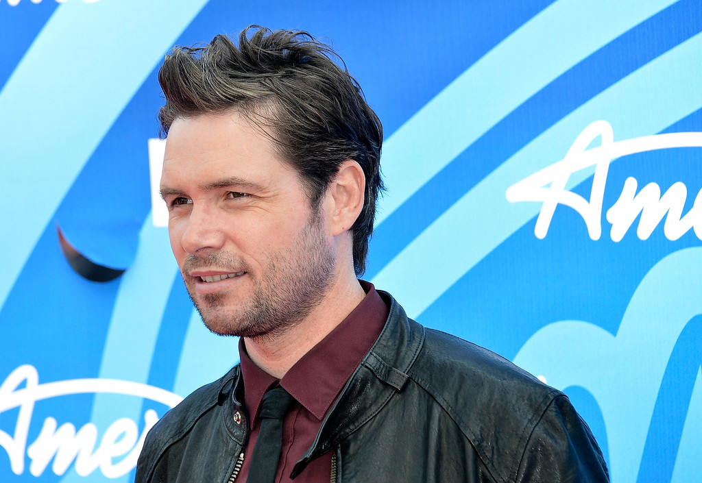 """. Singer Michael Johns attends Fox\'s \""""American Idol 2013\"""" Finale - Results Show at Nokia Theatre L.A. Live on May 16, 2013 in Los Angeles, California.  (Photo by Frazer Harrison/Getty Images)"""