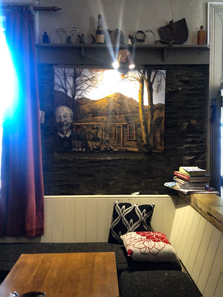 Artwork inside The Fork And Tap