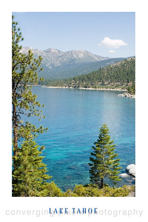 San Harbor, Lake Tahoe Poster