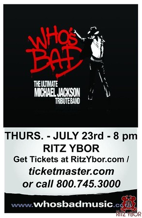 Who's Bad - The Ultimate MICHAEL JACKSON Tribute Band July 23, 2009