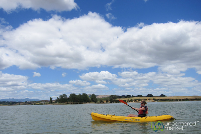 Kayaking Near Raglan - New Zealand