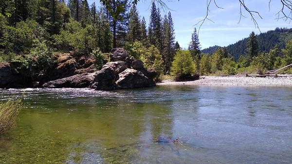 Trinity River swimming hole