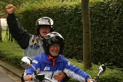 Zandbergrun 2006 - Eerste deel van de run