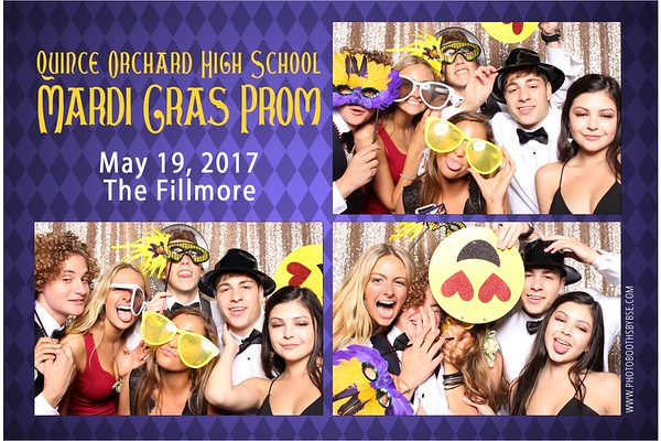 Quince Orchard High School Prom 2017