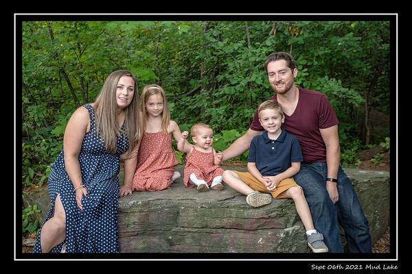 Elana Family Portrait Mud Lake