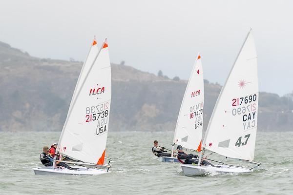 ILCA 4-4.7 Rig