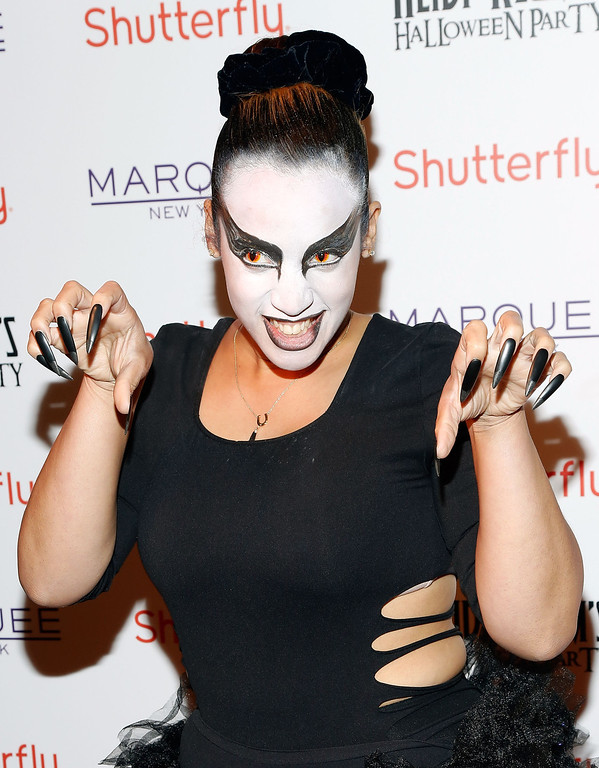 . Actress Dascha Polanco attends Shutterfly Presents Heidi Klum\'s 14th Annual Halloween Party sponsored by SVEDKA Vodka and smartwater at Marquee on October 31, 2013 in New York City.  (Photo by Cindy Ord/Getty Images for Heidi Klum)