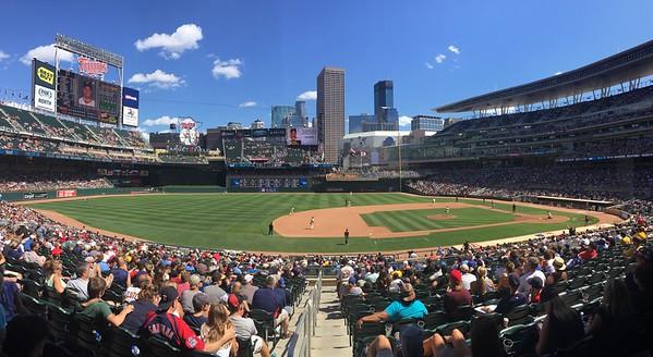 Minnesota Twins Game - 7/29/15