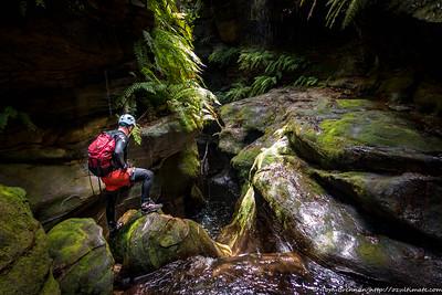 2021-02-21 Upper Bowens Creek South Canyon
