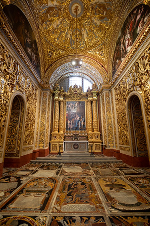 St Johns Cathedral, Valletta
