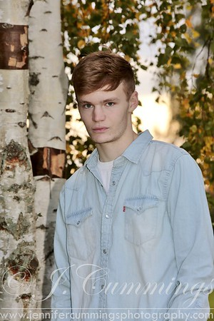 Tristan's Senior Portraits