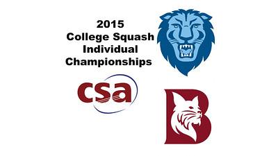 2015 College Squash Individual Championships
