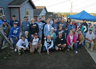 2009 October 3 - Habitat Build, Nashville, TN