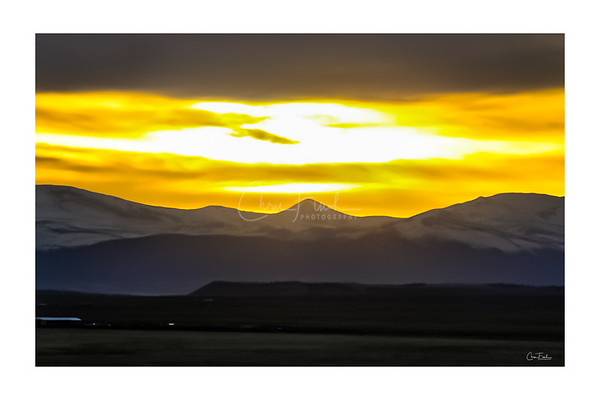 South Park Colorado Sunset