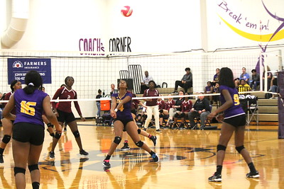 Lady Riders Volleyball hosts Senior Night prior to final home game