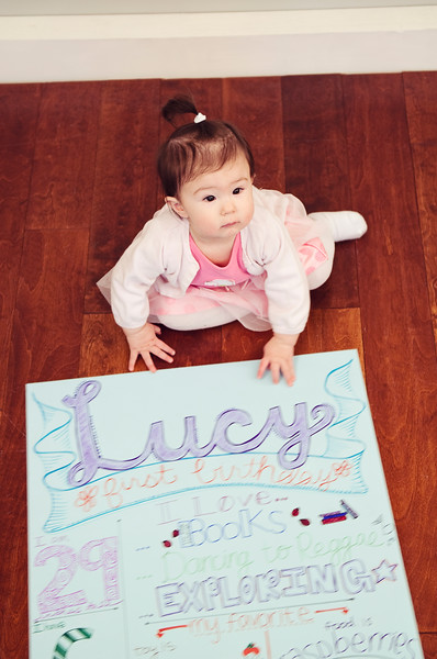 lucy 1 year
