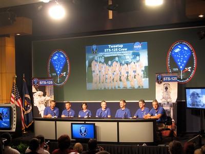 NASA Tweetup (STS-125)