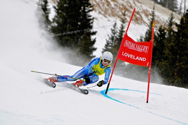 2-6-13 Utah FISU GS at Loveland - Ladies Run #2
