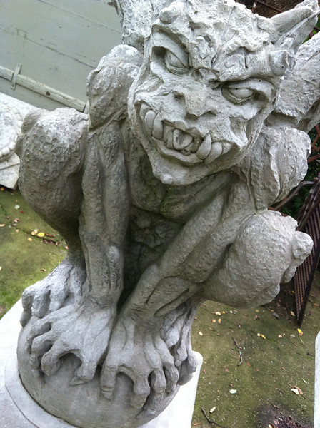 one scary statue.....