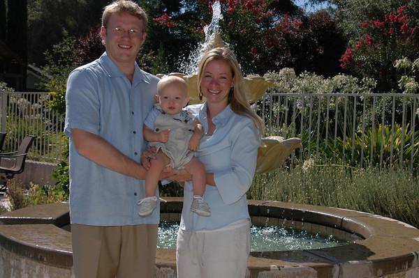 Close Family Reunion Portraits