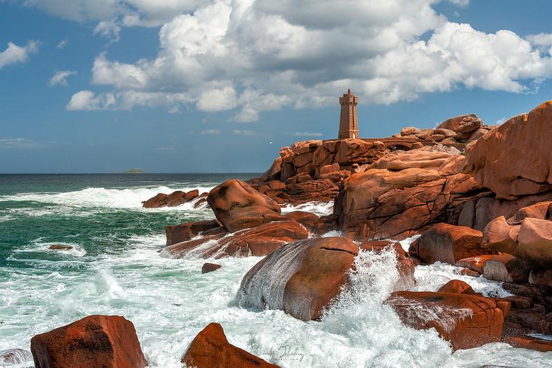 Ploumanach Coast Lighthouse
