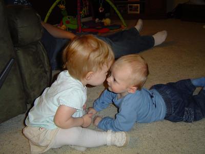Cayden's First Girlfriend Alyssa