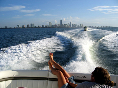 Boating The Keys - July 4th - 2006